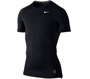 Nike - Cool Comp Shortsleeve Trainingsshirt (schwarz/grau)