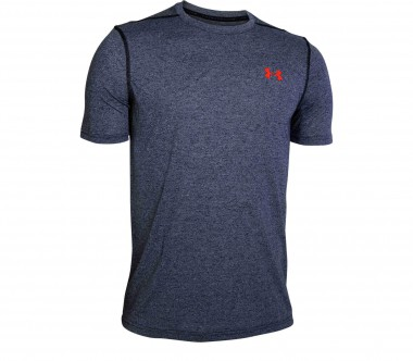 Under Armour - Threadborne Fitted Shortsleeve Herren Trainingsshirt (grau)