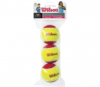 Wilson - Starter Red Balls 3 Pack Tennisball