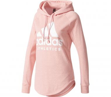 Adidas - Sport ID Over Head Damen Trainingshoodie (rosa)
