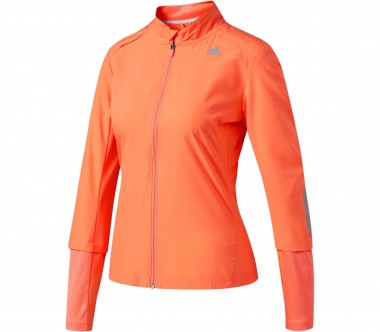 Adidas - Response Wind Damen Laufjacke (orange)