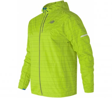 New Balance - Reflective Lite Packable Herren Laufjacke (grün)