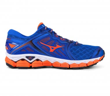 Mizuno - Wave Sky Herren Laufschuh (blau/orange)