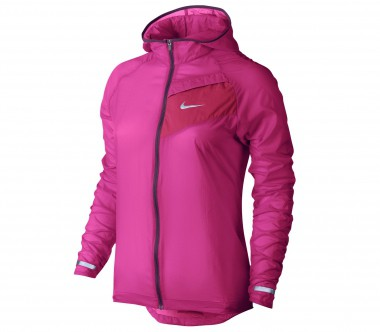 Nike - Impossibly Light Damen Laufjacke (pink/rot)