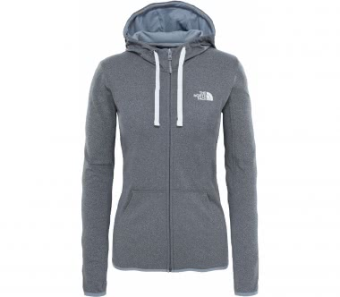 The North Face - Fave Lfc Full Zip Damen Trainingshoodie (grau)