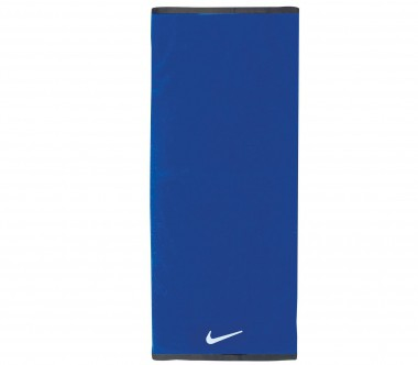 Nike - Fundamental Towel Handtuch - Large (blau/weiß)
