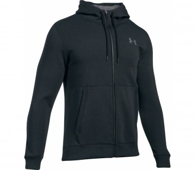 Under Armour - Threadborne Full-Zip Herren Trainingshoodie (grau)