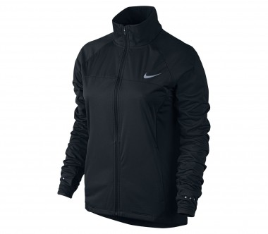 Nike - Shield Full Zip 2.0 Damen Laufjacke (schwarz)