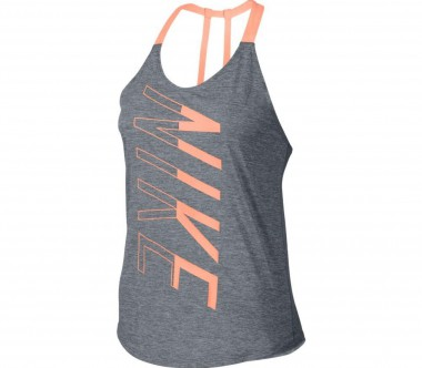 Nike - Dry Damen Trainingstank (grau/koralle)