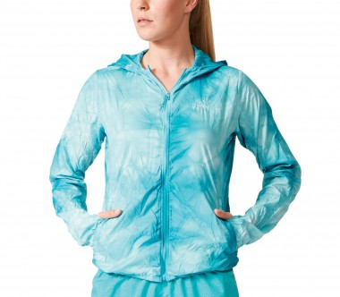 Adidas - Kanoi Run Packable Dye Damen Laufjacke (dunkeltürkis)