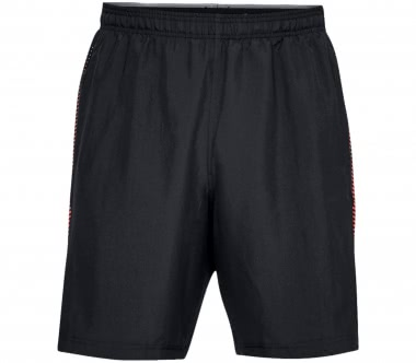 Under Armour - Woven Graphic Herren Trainingsshort (schwarz/rot)