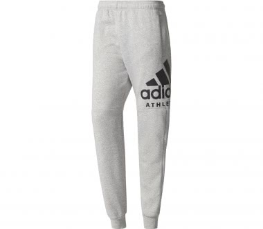 Adidas - Sport ID Branded Tapered Fleece Herren Trainingspant (grau)