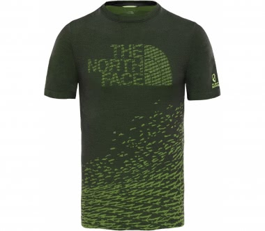 The North Face - Flight Logo Seamless Herren Trainingsshirt (schwarz/gelb)