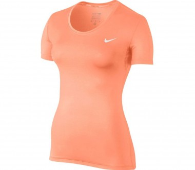 Nike - Pro Damen Trainingstop (hellorange)