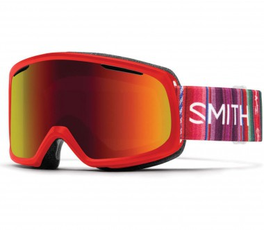 Smith - Riot Skibrille (rot/lila)