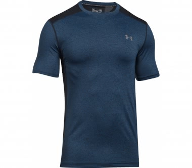 Under Armour - Raid Shortsleeve Herren Trainingsshirt (blau/grau)