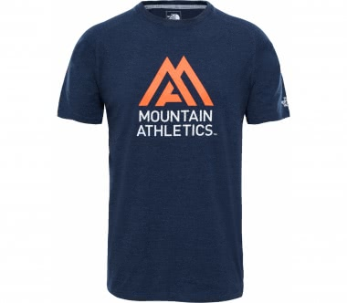 The North Face - Wicker Graphic Crew Herren Trainingsshirt (hellblau/orange)
