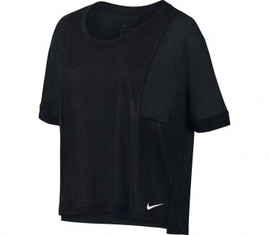 Nike - Breathe Damen Trainingstop (schwarz)