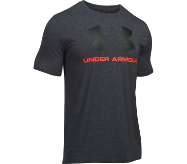 Under Armour - CC Sportstyle Logo Herren Trainingsshirt (grau)