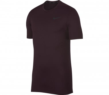 Nike - Breathe Training Herren Trainingsshirt (dunkelrot)