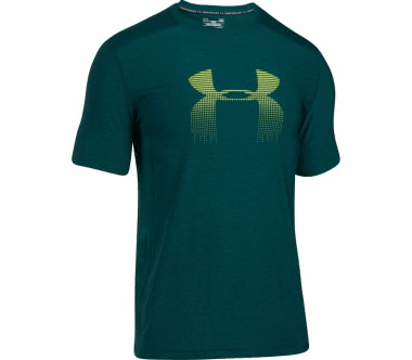 Under Armour - Raid Graphic Shortsleeve Herren Trainingsshirt (grün/gelb)