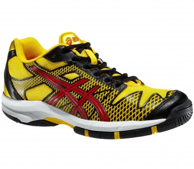 Asics - Gel-Solution Speed GS Junior Tennisschuh (gelb/schwarz)