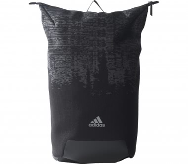 Adidas - Icon Knitted Backpack (schwarz/grau)