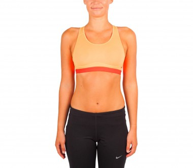 Nike - Pro Fierce Damen Trainingsbra (orange/rot)