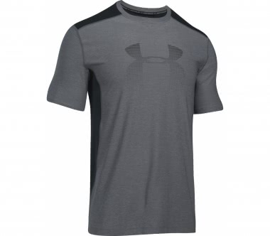 Under Armour - Raid Graphic Shortsleeve Herren Trainingsshirt (grau/schwarz)