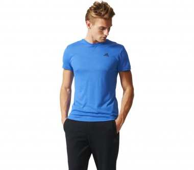 Adidas - Essentials Premium Herren Trainingsshirt (blau)
