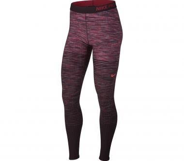Nike - Pro HyperWarm Damen Trainingstight (lila/pink)