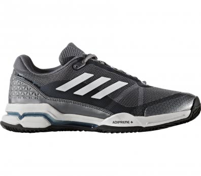 Adidas - Barricade Club Clay Synthetic Herren Tennisschuh (grau/weiß)
