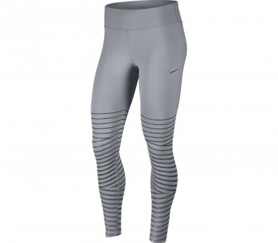Nike - Power Epic Lux Flash Damen Lauftight (grau)