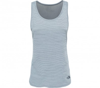 The North Face - Motivation Stripe Damen Funktionstank (blau)