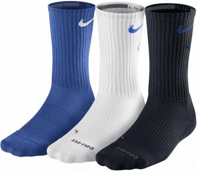 Nike - DriFit Fly Crew tennis socks - 3 pairs - SP13
