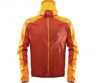 Haglöfs - L.I.M Shield Herren Windbreaker (orange/rot)