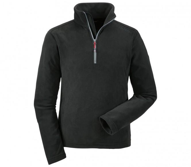 Schöffel Leroy men's fleece pullover (black) 48