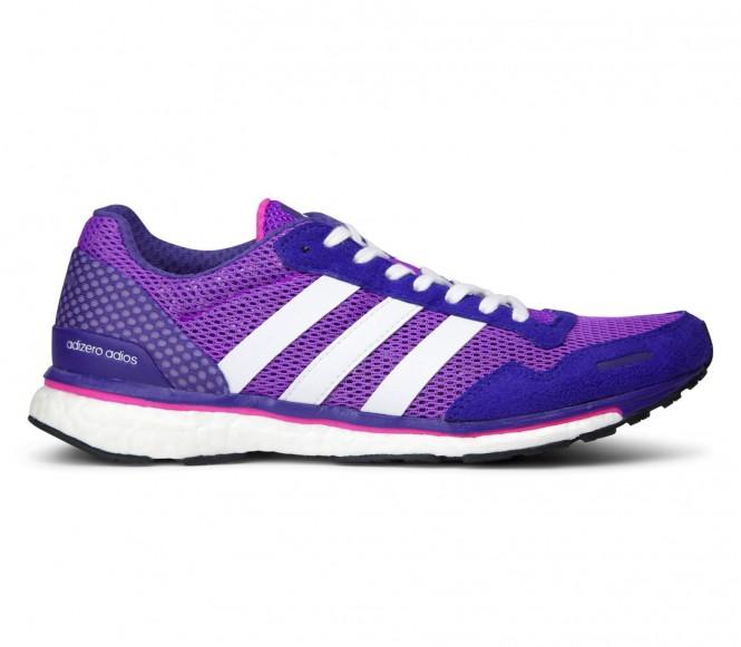 Adidas - adizero Adios 3 Damen Laufschuh (lila/weiß) - EU 38 - UK 5