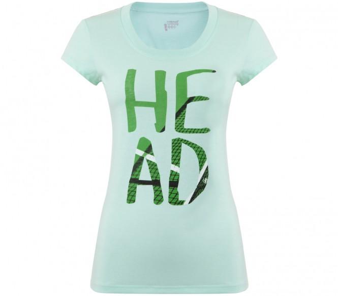 Head Nip dam tennisskjorta (grön) M