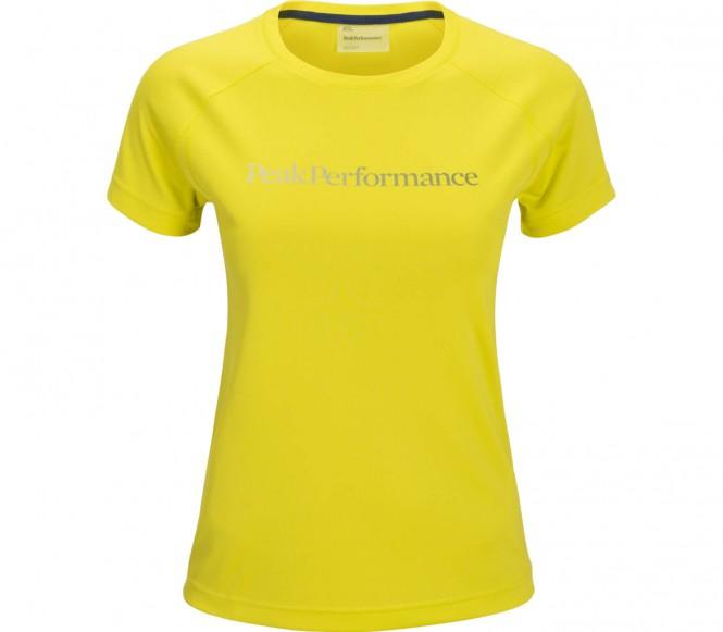 Peak Performance - Gallos Short Sleeve women's running top (yellow) - M
