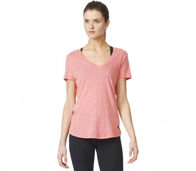 T-shirts adidas LOGO V-TEE
