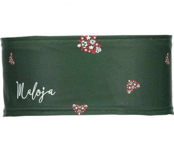 Maloja - HolstebroM. Headband (dunkelgrün)