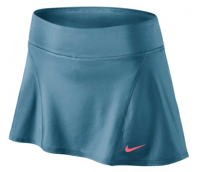 Nike - Flouncy Knit Gonna da tennis donna (blu) - M