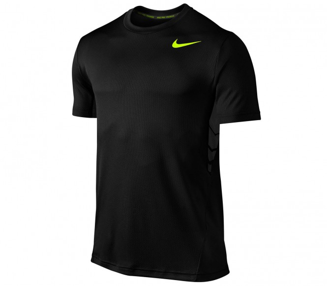 Nike Vapor Dri-Fit Shortsleeve men's training shirt (black) L