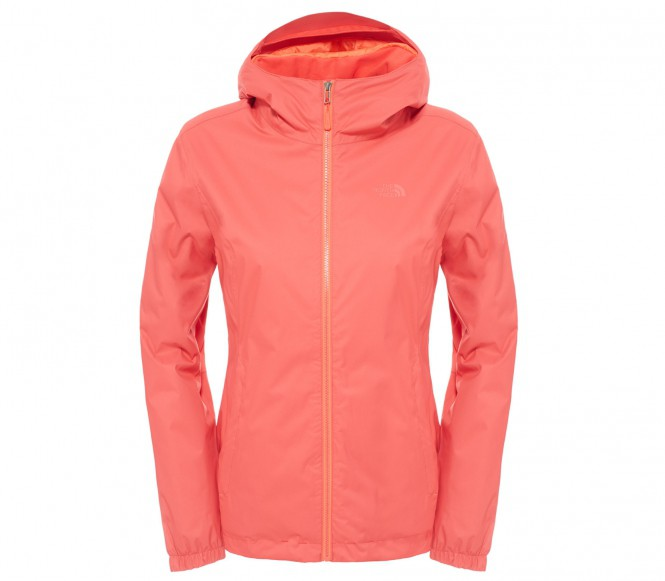 The North Face Quest Insulated dam shelljacka (röd) L