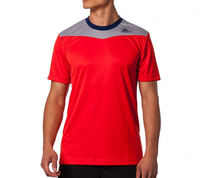 Adidas CY T-shirt Herr (röd/grå) S