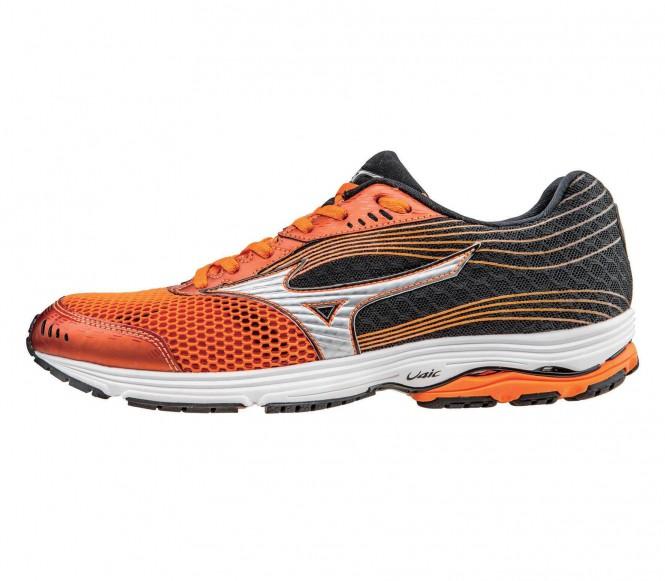 Mizuno - Wave Sayonara 3 Scarpe running uomo (arancione/nero) - EU 45 - UK 10,5