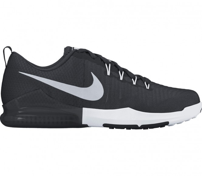 Nike Zoom Train Action Heren Trainingsschoenen (zwart-zilver) EU 44,5 US 10,5