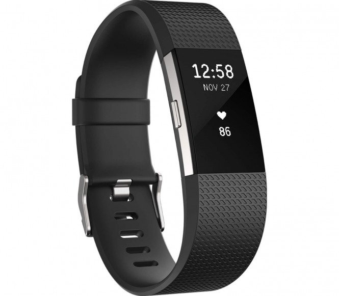 Fitbit - Charge 2 running horloge Large