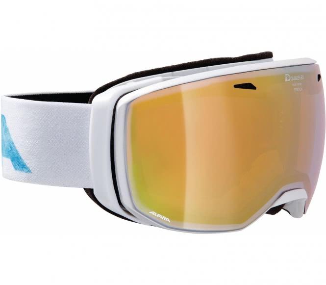 Alpina - Estetica Unisex Skibrille (weiß)